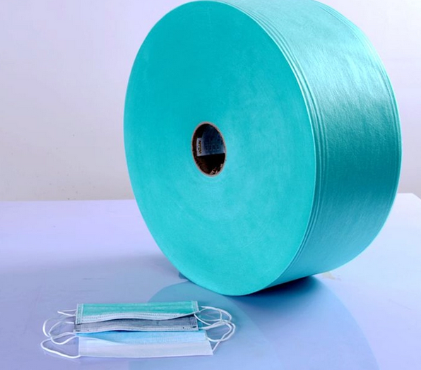 Non woven SMS fabric for medical mask production